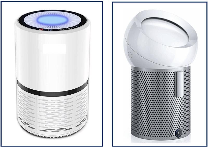 HEPA filter fans